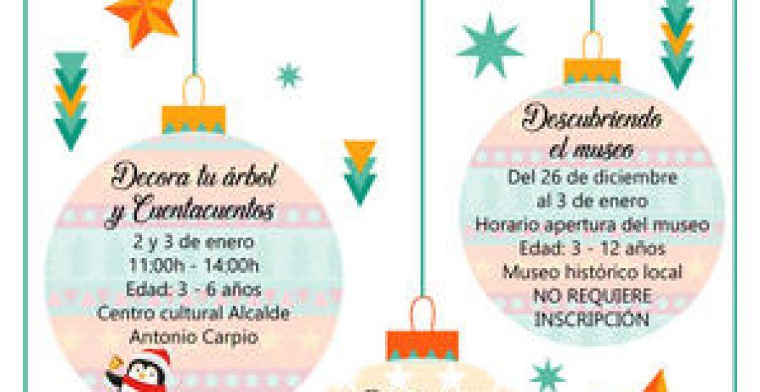 """El área de Juventud e Infancia trae """"Una Navidad Diferente"""" para los más pequeños de Montilla"""