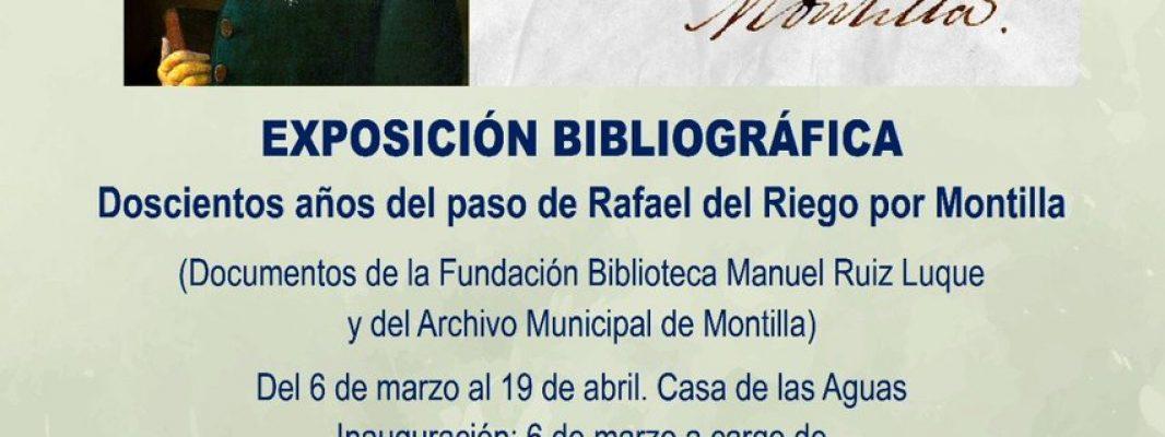 Carmen Calvo inaugurará en Montilla el acto homenaje al general Rafael Riego en el bicentenario del Trienio Liberal