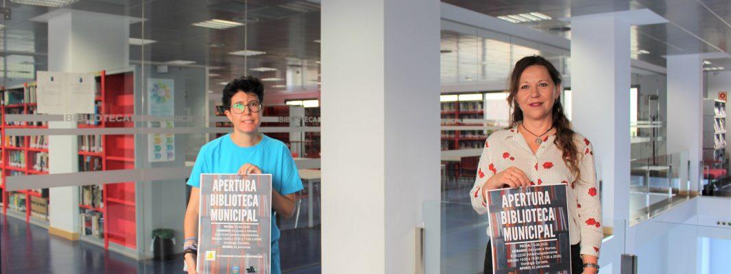 La Biblioteca Municipal de Montilla abrirá mañana lunes