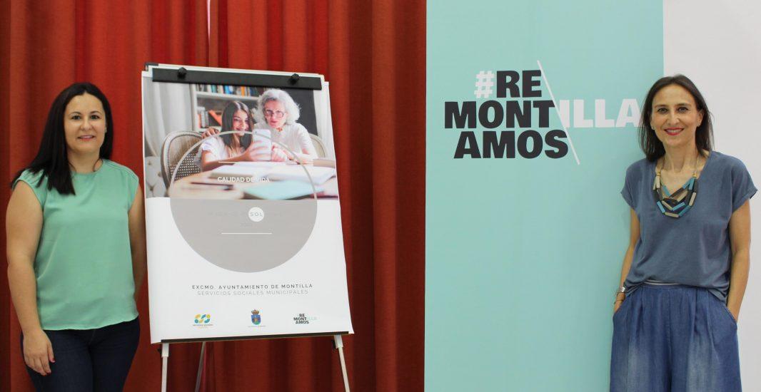 Los Servicios Sociales Municipales de Montilla ponen en marcha un proyecto para atender las necesidades de las personas mayores en situación de soledad no deseada