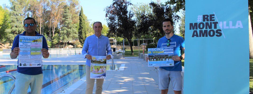 Montilla presenta las actividades a realizar en el entorno del Polideportivo Municipal
