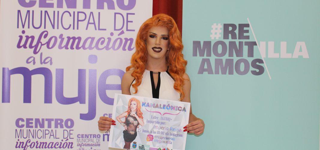 Mujer y Juventud presenta un taller dirigido por Imperio Reina con motivo del día Internacional del Orgullo LGTBIQ+