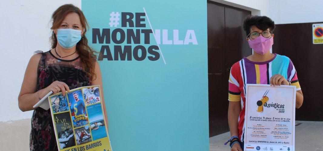 Cine en los Barrios y Agústicos son las propuestas gratuitas de entretenimiento para noches de verano en Montilla