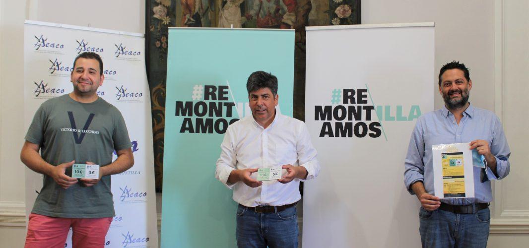 AEACO y Montilla lanzan los bonos comercio para incentivar la compra en las tiendas de la localidad