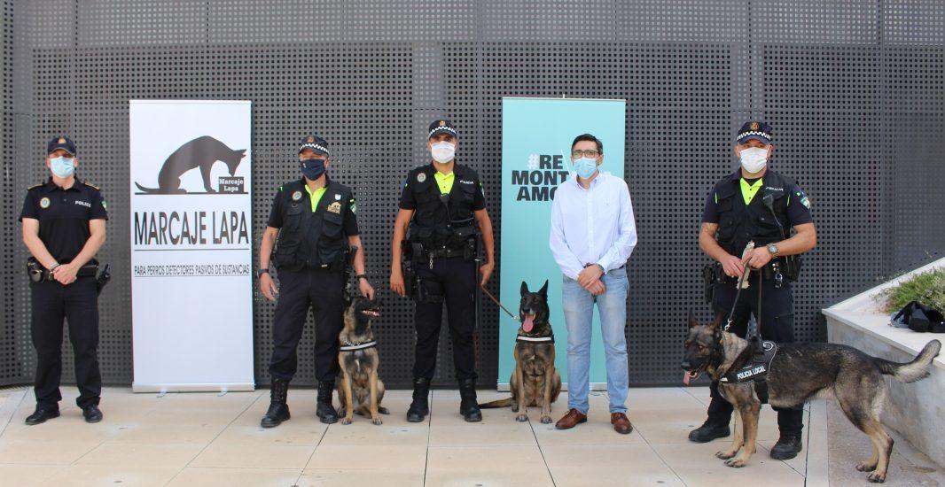 Montilla cuenta desde hoy con una unidad canina para la seguridad ciudadana