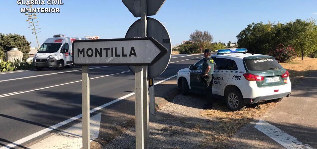 La Guardia Civil detiene en Montilla a tres personas como supuestas autoras de un delito de robo con escalo