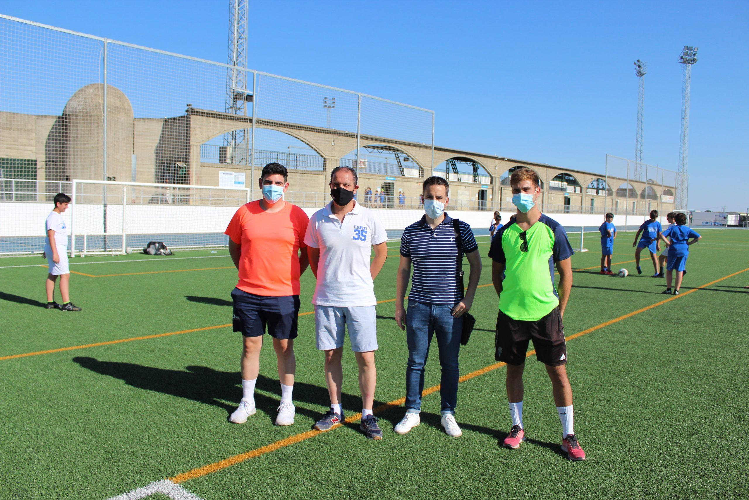 Deporte y diversión se conjugan en el I Campus Ciudad de Montilla
