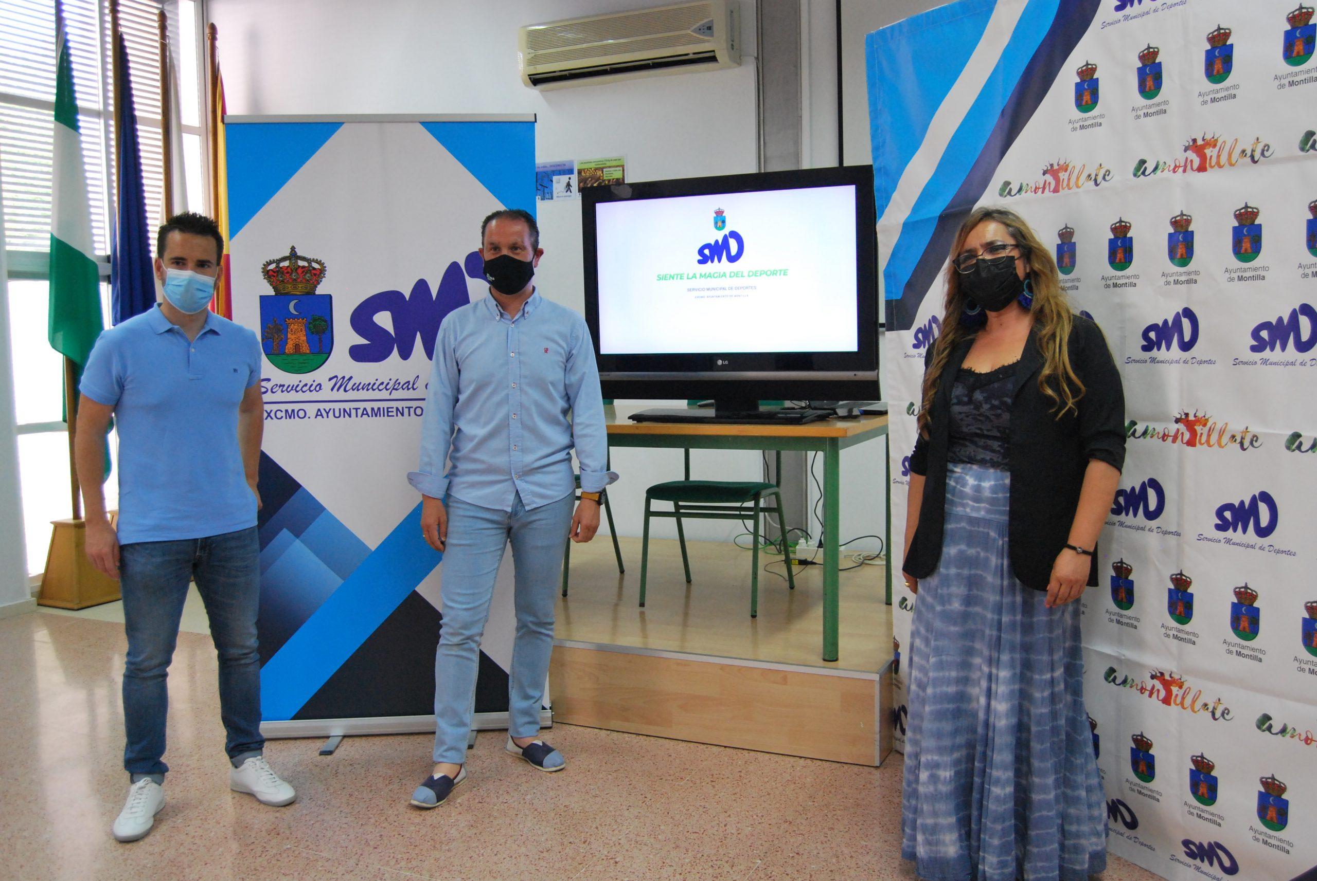 Montilla promociona las instalaciones deportivas municipales para atraer deportistas