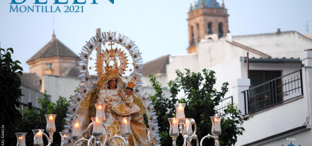 Cartel de los Cultos a Nuestra Señora de Belén 2021